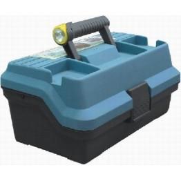 Ящик для рыболовных принадлежностей Akara с двумя фонариками